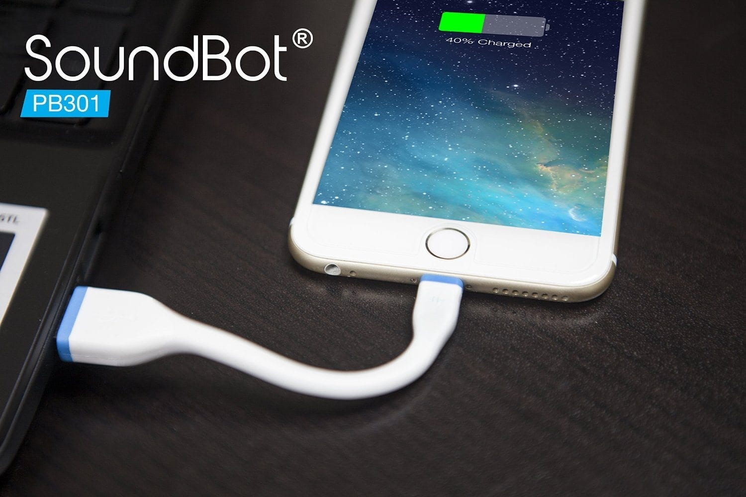 PowerBot PB301 Apple MFi Certified Lightning Cable