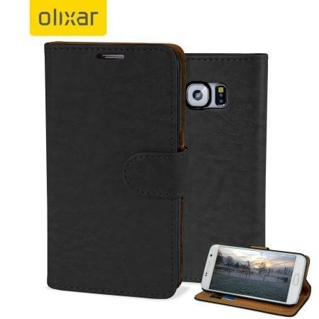 Olixar Leather Style Galaxy S6 Case