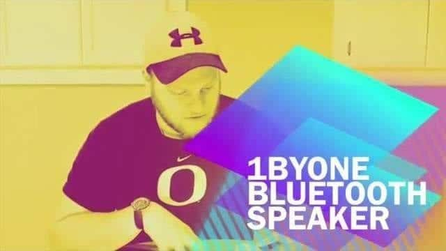 1byone Portable Bluetooth Speaker