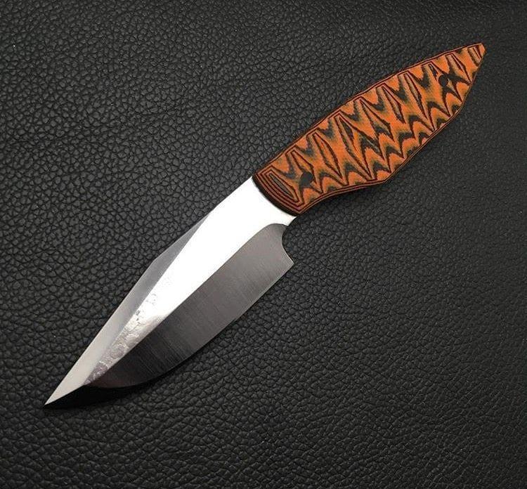Custom Carbon Steel Knife
