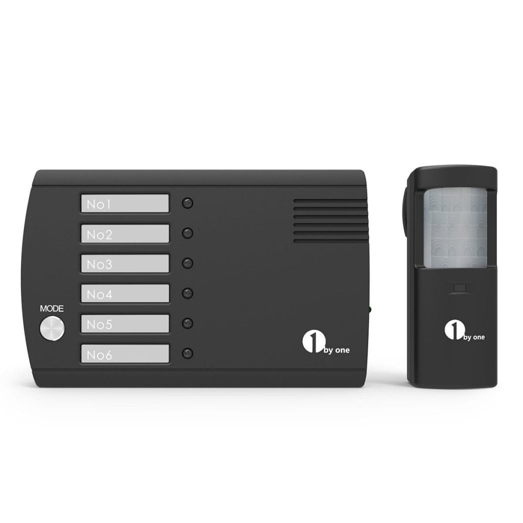 1byone Wireless Motion Sensor & Detector Alert System