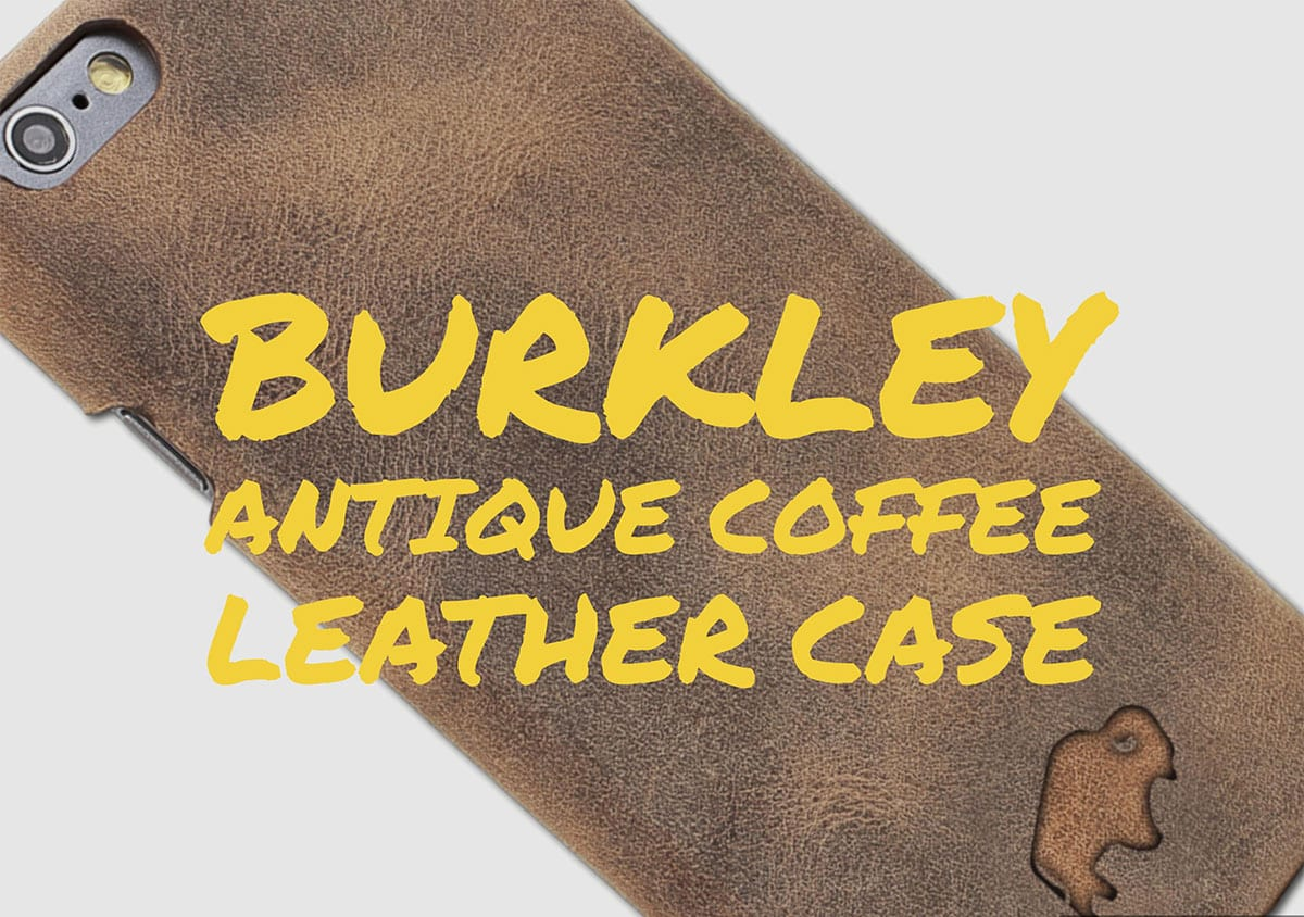 Burkley Antique Coffee Leather Case