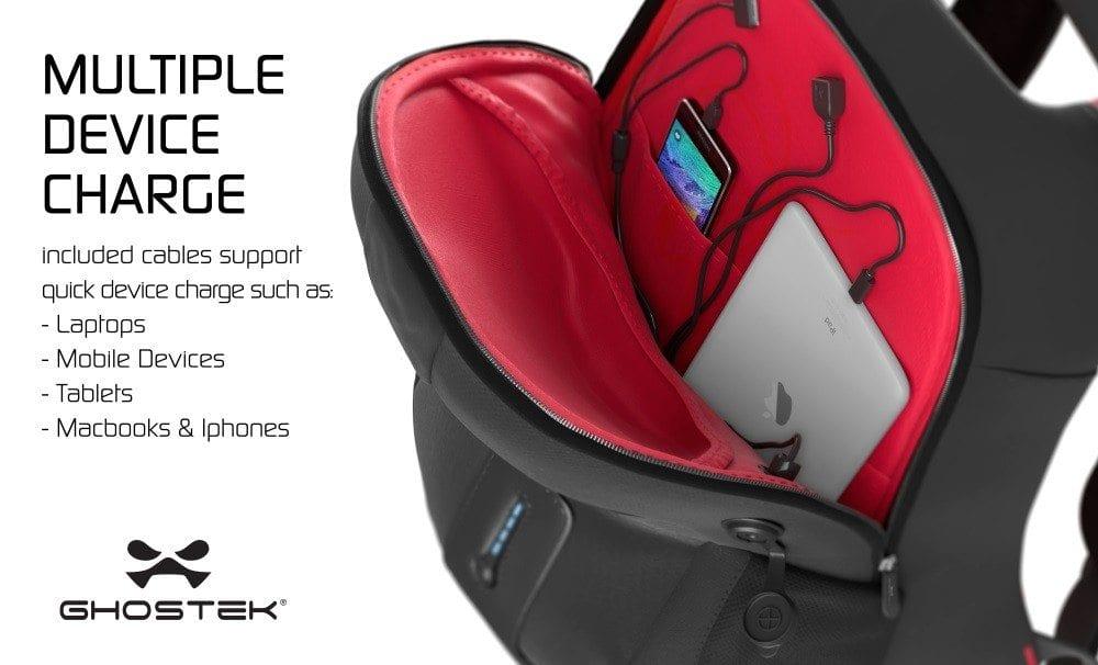 Ghostek NRGbag Rechargeable Backpack