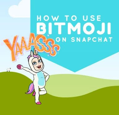 How to use BitMoji on SnapChat