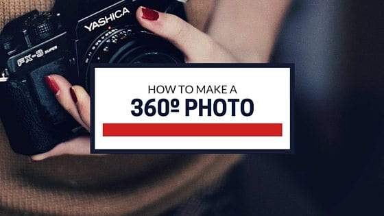 How to create a 360º photo on Facebook