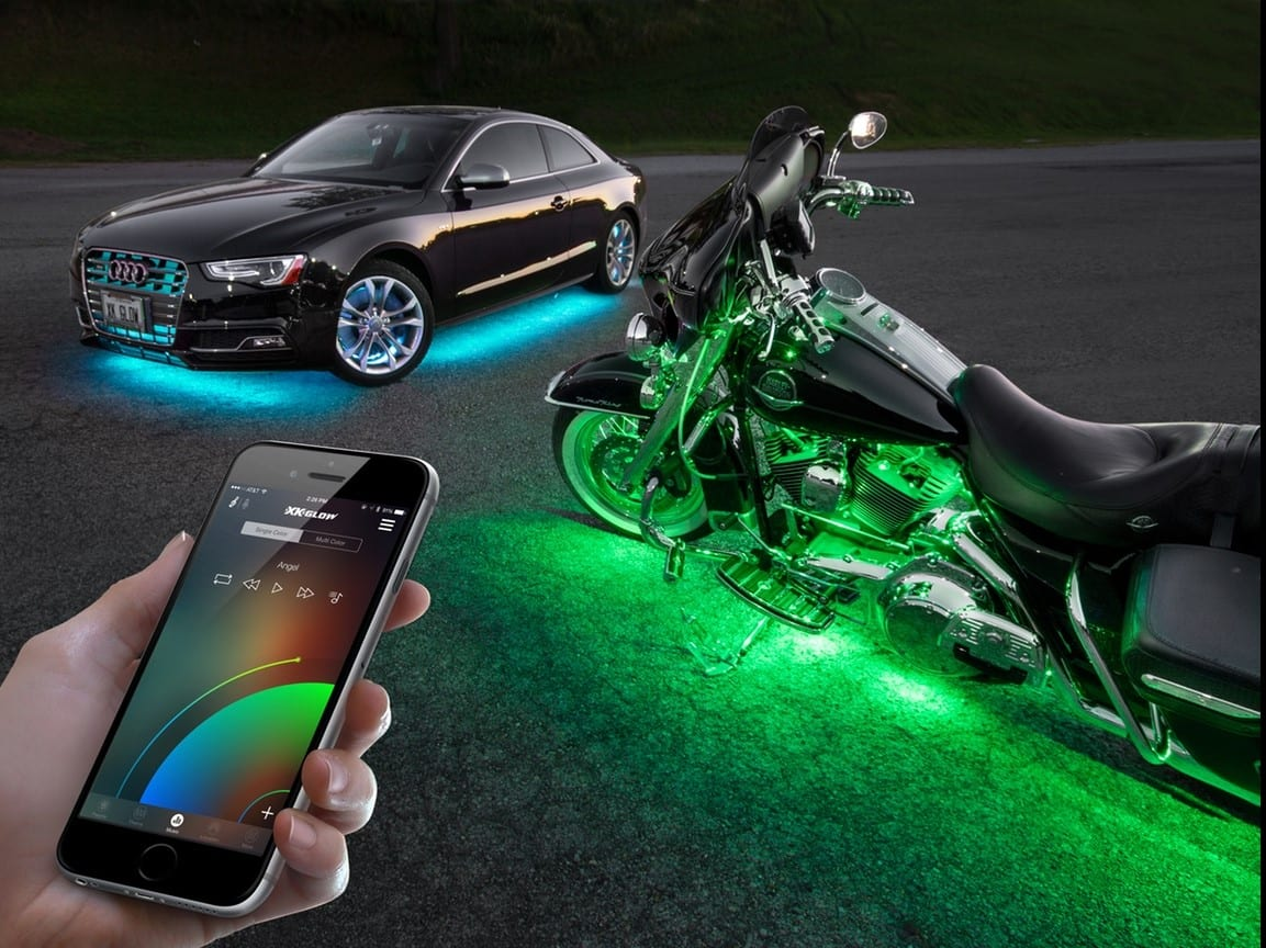 XKchrome: Reinventing Automotive Lighting