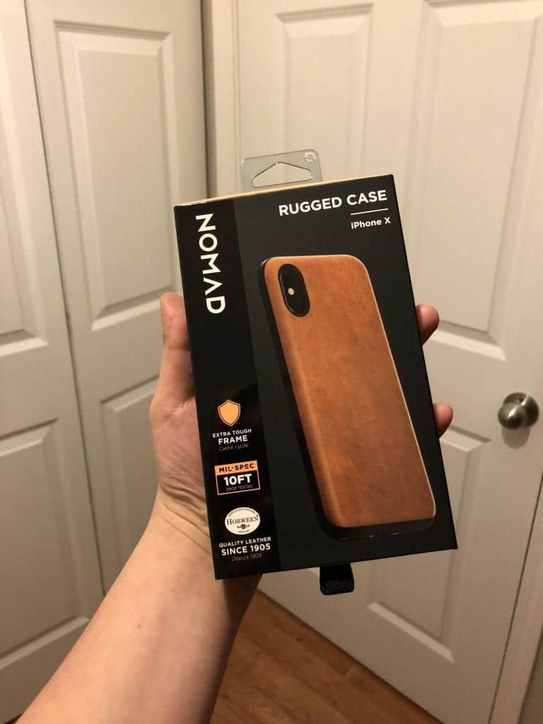 Adventurer approved: The Rugged Case by Nomad [iPhone X]