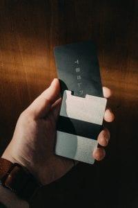 Rullus Ultra Slim Aerospace-Grade RFID Aluminium Wallet
