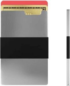 Rullus Ultra Slim Polished Aerospace-Grade Aluminium Wallet